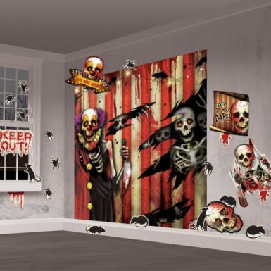 32 Décorations murales tête de mort