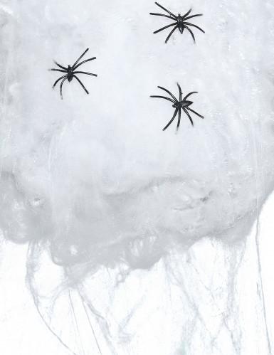Fausse toile d'araignée blanche 50g Halloween