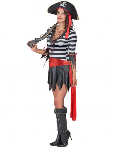Déguisement pirate femme -1