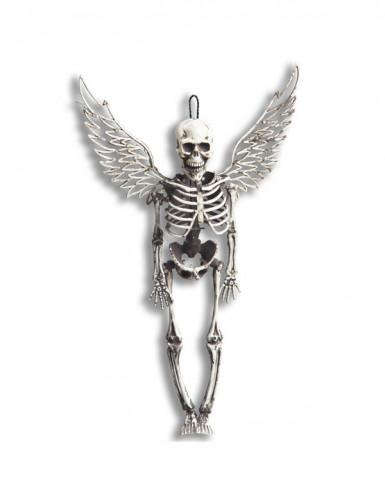 Décoration à suspendre squelette avec ailes