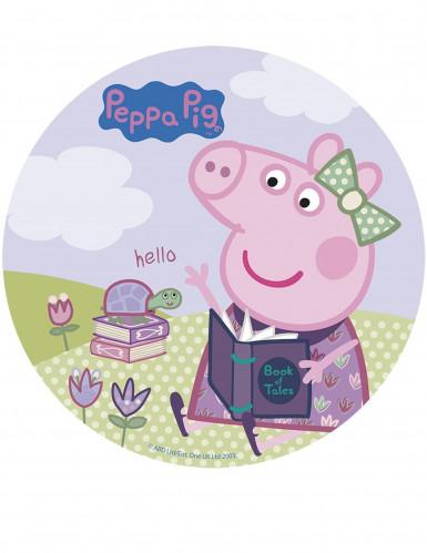 Disque azyme 20 cm Peppa Pig™-1