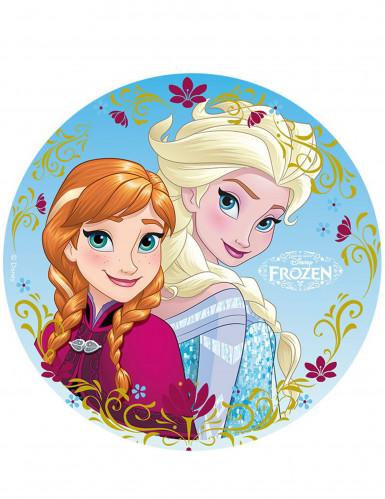 Disque azyme 20cm Elsa & Anna La Reine des Neiges - Frozen™