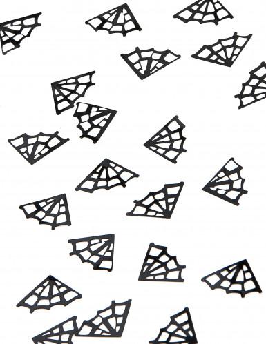 Confettis de table toiles d'araignée Halloween 10 grammes