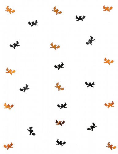 Confettis de table sorcières Halloween-1