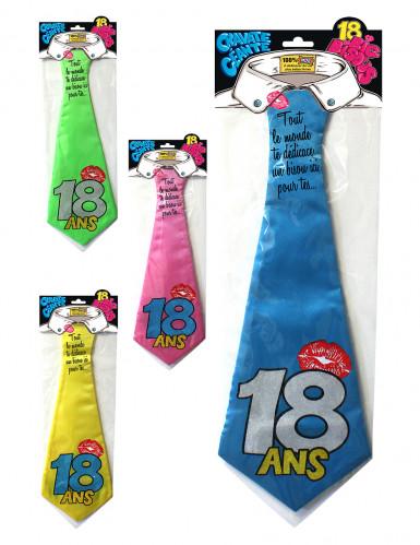 Cravate humoristique 18 ans