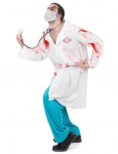 Déguisement chirurgien ensanglanté adulte Halloween-1