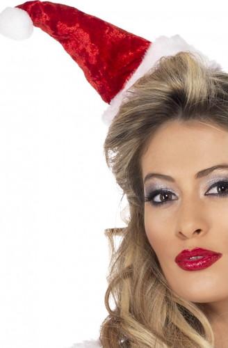 Mini chapeau Mère Noël femme