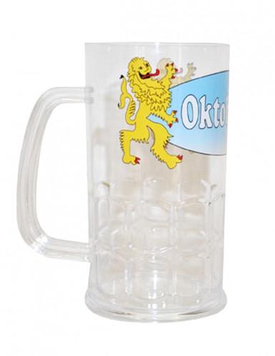 Chope de bière transparente