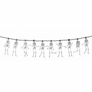 Guirlande squelettes 3 m