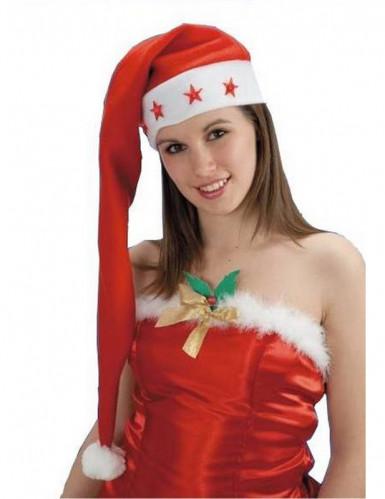Bonnet Noël long lumineux adulte