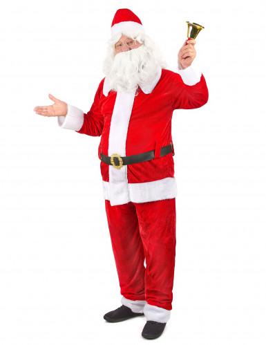 Déguisement Père Noël super luxe homme-1