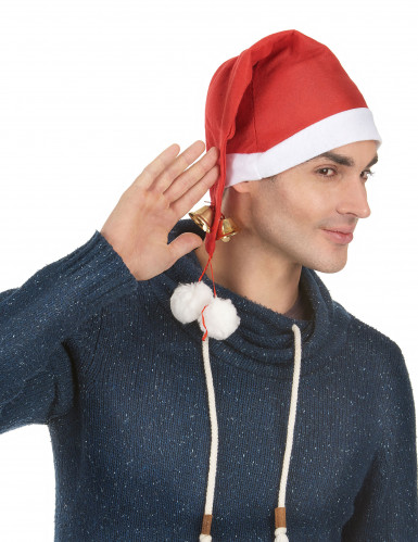 Bonnet grelots adulte Noël-1