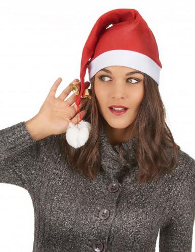 Bonnet grelots adulte Noël-2