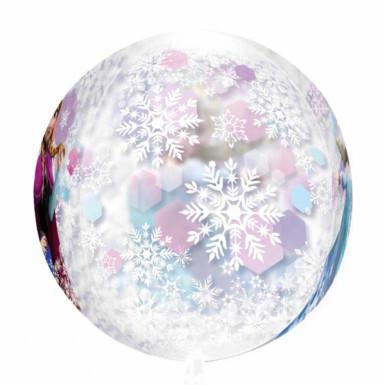 Ballon rond la Reine des Neiges™-2