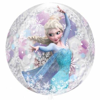 Ballon rond la Reine des Neiges™-1