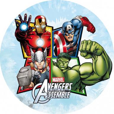 Disque azyme 20 cm Avengers™