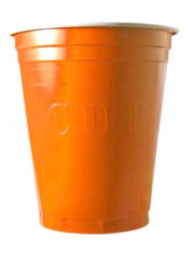 20 gobelets américain Original cup orange