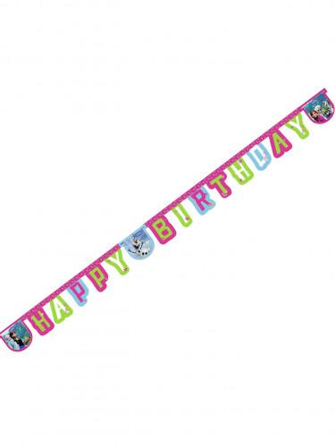 Guirlande Happy Birthday Reine des Neiges™