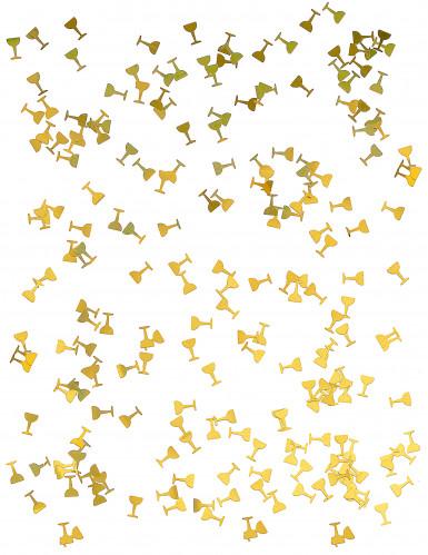 Confettis de table coupe de champagne-1
