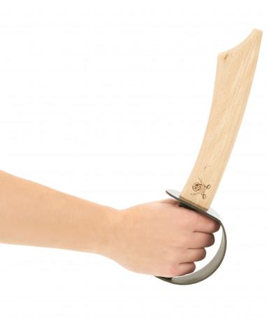 Epée pirate en bois 33 cm-1