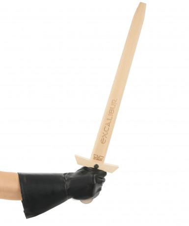 Epée en bois Excalibur adulte 66 cm-1