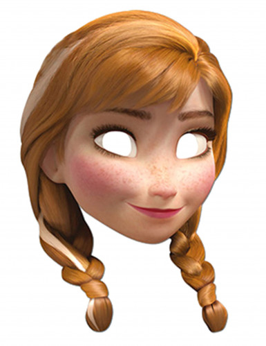 Masque carton Anna La Reine des Neiges™