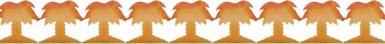 Guirlande palmier 3 mètres