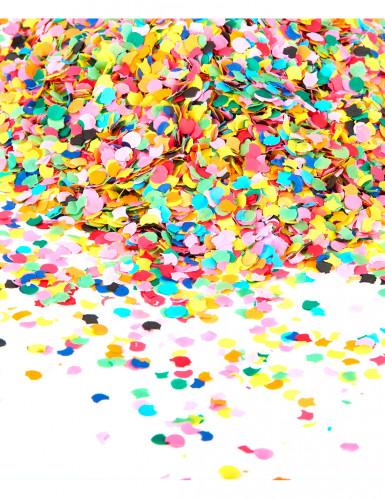 Sachet de confettis 100 gr multicolore fluo