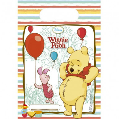 6 Sacs cadeaux Winnie l'ourson™