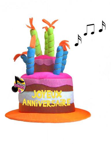 Chapeau anniversaire musical