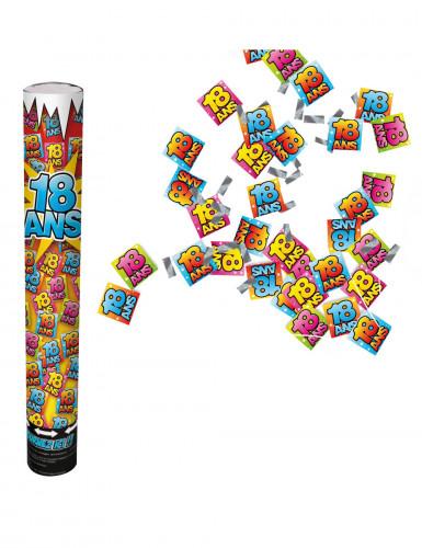 Canon confettis anniversaire 18 ans