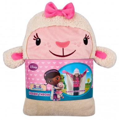 Plaid à capuche enfant Disney Docteur la peluche™-1