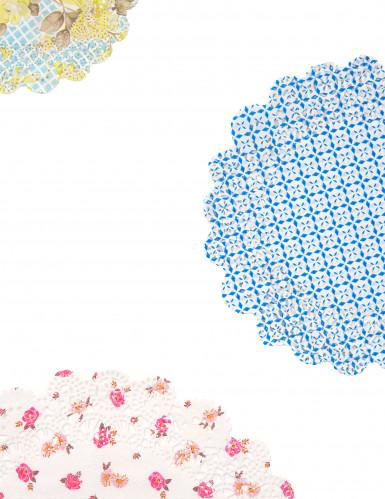 24 Napperons en papier Thé entre copines-1