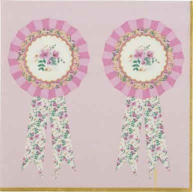 20 Serviettes en papier Poney 33 x 33 cm -1