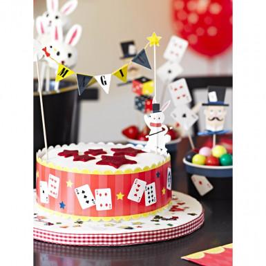 12 Décorations gâteau Goûter entre magiciens-1