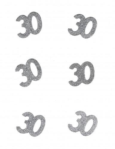 6 Confettis anniversaire 30 ans