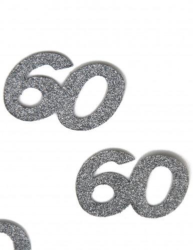 6 Confettis anniversaire 60 ans-1