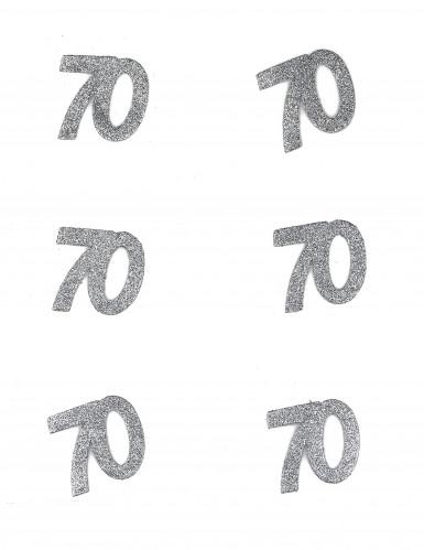 Confetti anniversaire 70 ans