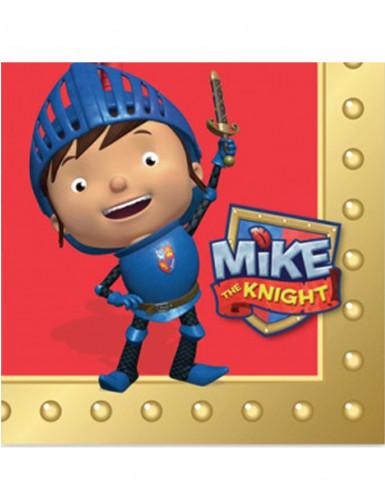 16 Serviettes en papier Mike le chevalier™ 33 x 33 cm
