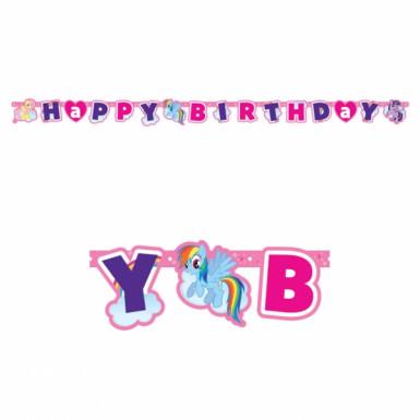 Guirlande Happy Birthday Mon Petit Poney™
