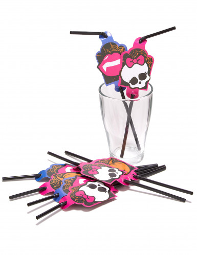 8 Pailles Monster High™-1
