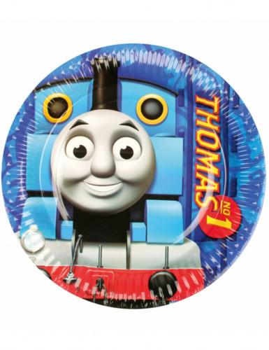 8 Assiettes en carton Thomas et ses amis™ 23 cm