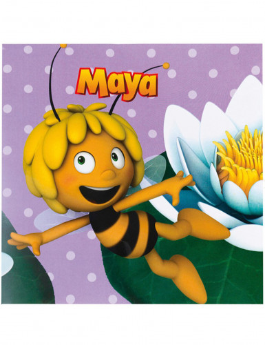 20 Serviettes en papier Maya l'abeille™ 33 x 33 cm