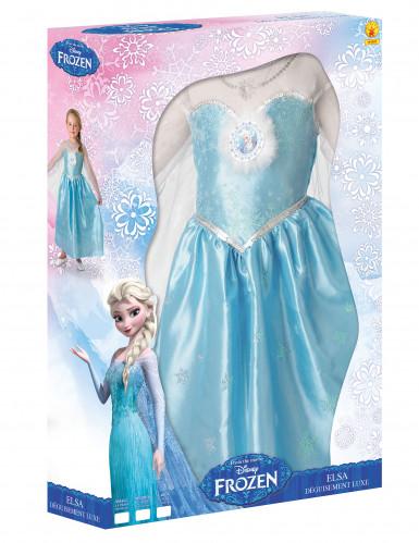 Coffret Déguisement Elsa La Reine des Neiges™ fille Luxe-1