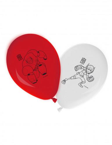 8 Ballon latex Les Nouveaux Héros™