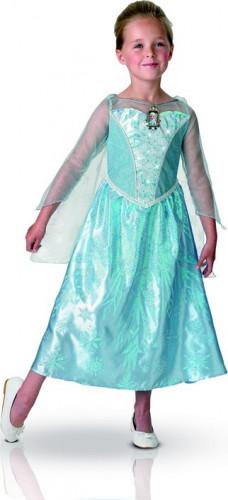 Déguisement de luxe lumineux et sonore Elsa Frozen™ Fille