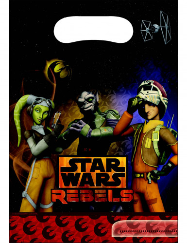 6 Sacs de fête Star Wars Rebels™