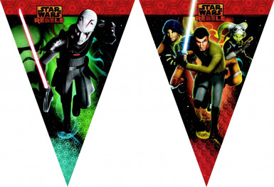 Guirlande fanions Star Wars Rebels™