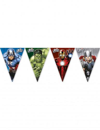 Guirlande fanions en plastique Avengers™