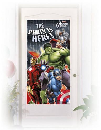Décoration de porte Avengers™